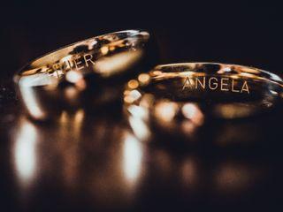 O casamento de Angela e Olivier 1