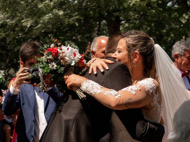 O casamento de Carlos  e Joana  em Almargem do Bispo, Sintra 1