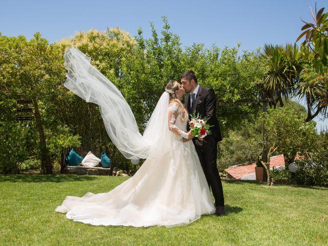 O casamento de Carlos  e Joana  em Almargem do Bispo, Sintra 6