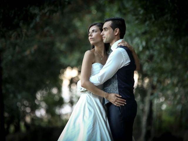 O casamento de Leila e Leandro
