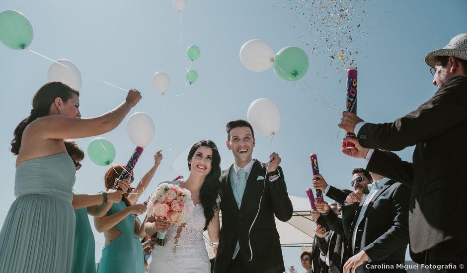 O casamento de Pedro e Neia em São Pedro de Muel, Marinha Grande