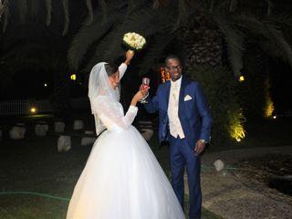 O casamento de Dicha e Isaías