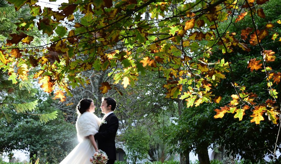 O casamento de Tito e Ana em Linhó, Sintra
