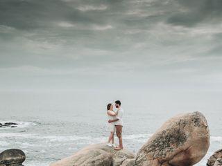 O casamento de Helena e Flávio