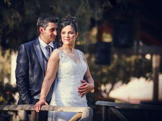O casamento de Cláudia e Nelson