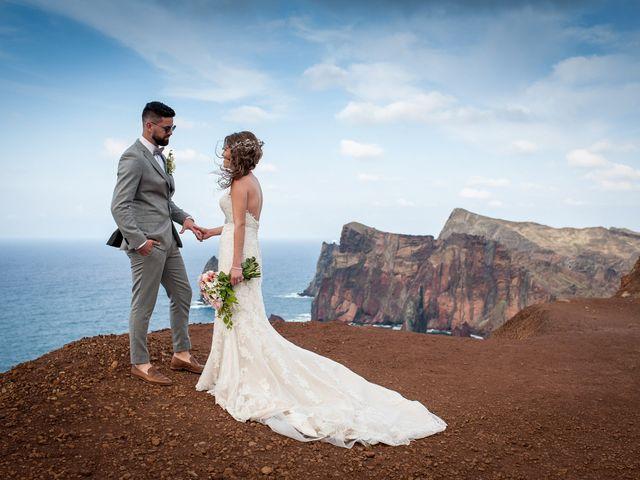O casamento de Tiado e Grécia em Funchal, Madeira 1