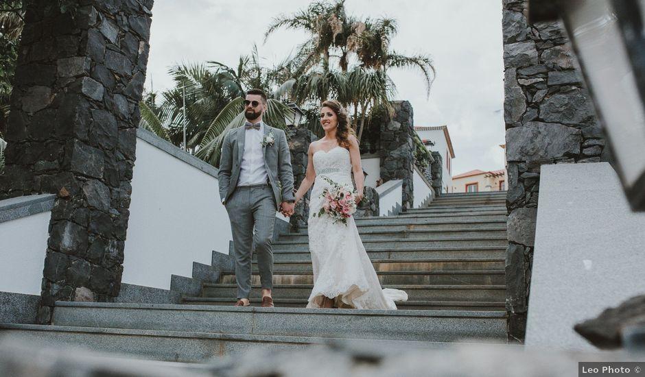 O casamento de Tiado e Grécia em Funchal, Madeira