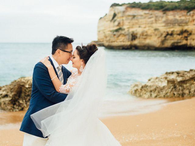 O casamento de Norman e Marina em Porches, Lagoa 1