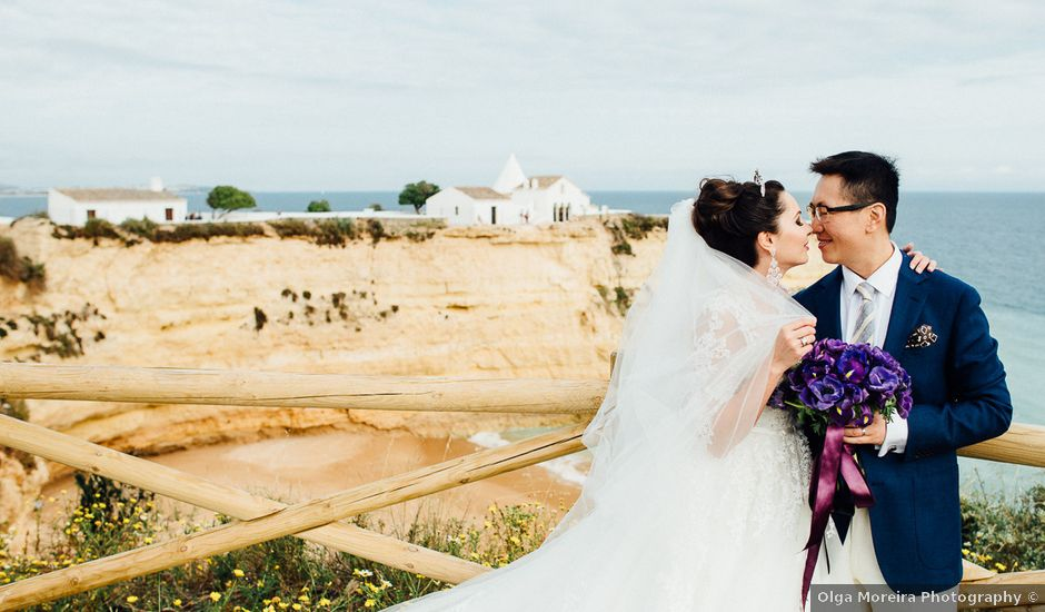 O casamento de Norman e Marina em Porches, Lagoa
