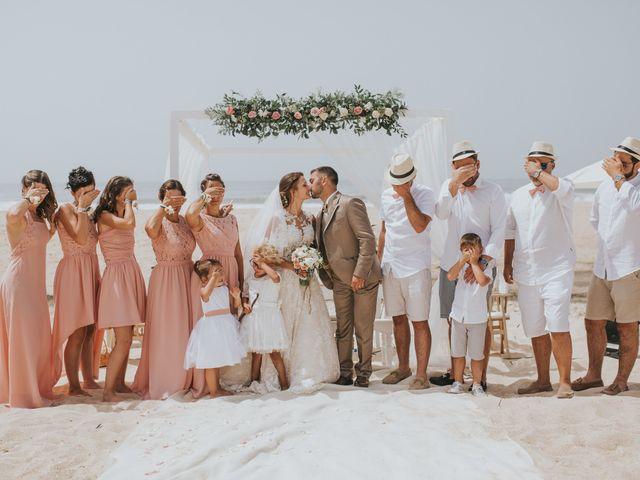 O casamento de Cedric e Telma