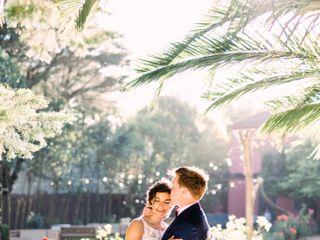 O casamento de Eunice e James