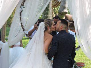 O casamento de Cheila  e André