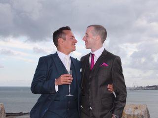 O casamento de Nuno e Keith