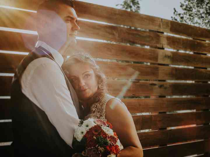 O casamento de Paula e Carlos