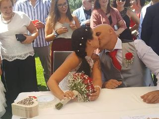 O casamento de Carlos e Carla