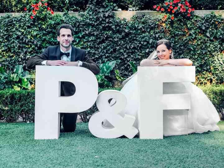 O casamento de Paula e Filipe