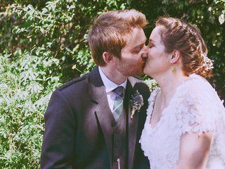 O casamento de Brigite e Gareth