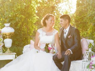 O casamento de Irene e Pedro