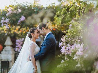 O casamento de Palmira e Miguel