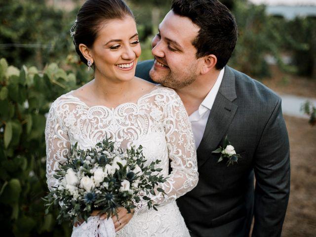 O casamento de Marcella e André