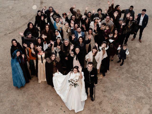 O casamento de Julie  e Francisco