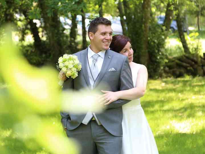 O casamento de Filomena e Luis