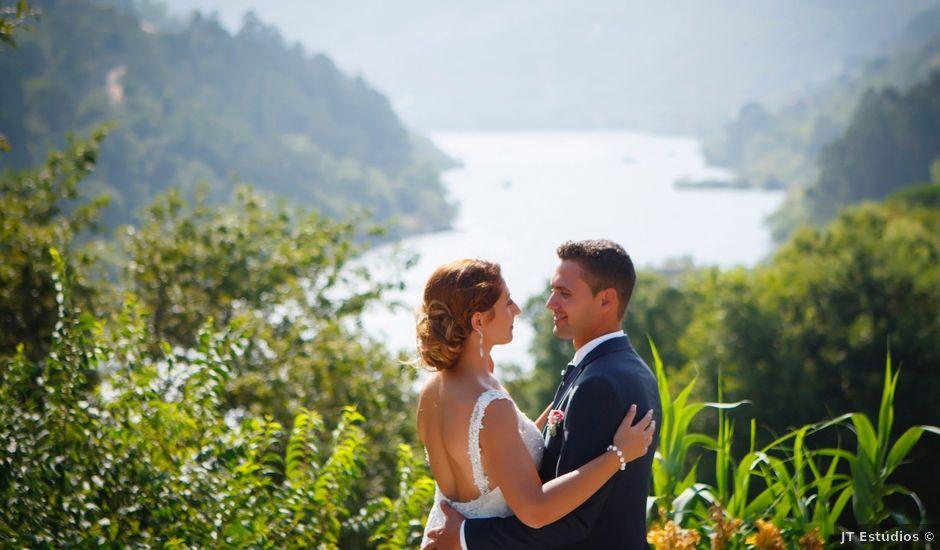 O casamento de Micael e Paula em Cinfães, Cinfães