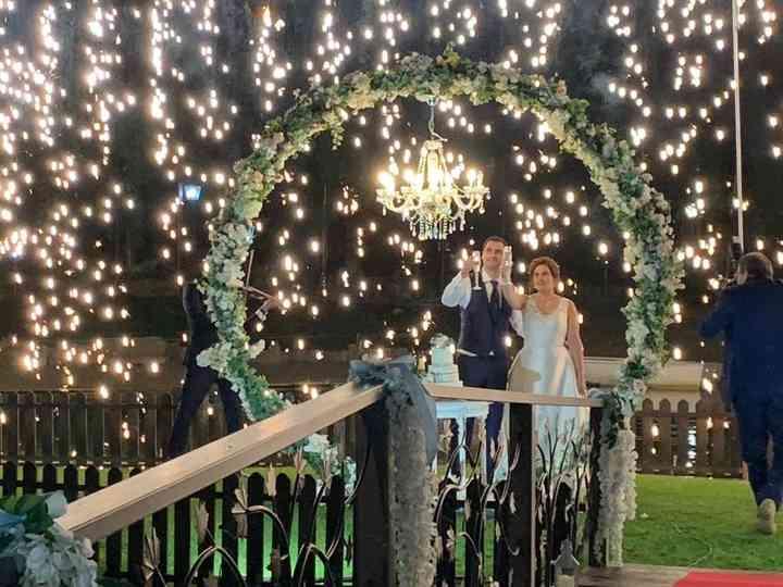 O casamento de Cláudia e Rui