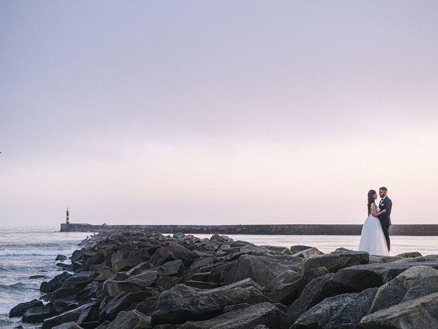 O casamento de Jean-Baptiste e Lucie em Azurara, Vila do Conde 1