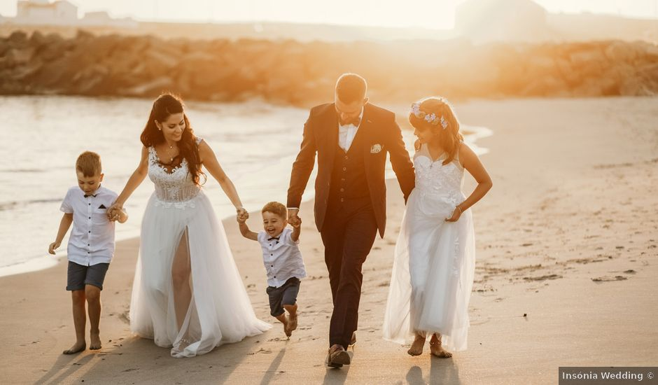 O casamento de Jean-Baptiste e Lucie em Azurara, Vila do Conde