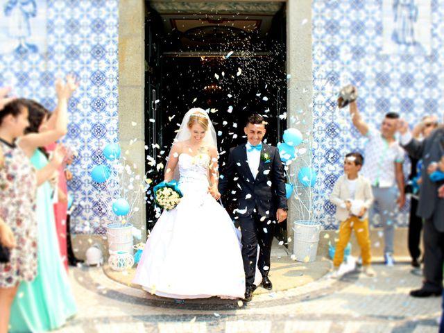 O casamento de Joana e Manuel