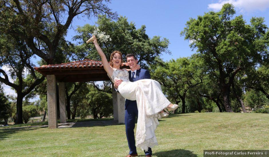 O casamento de Fábio e Marta em Alcains, Castelo Branco (Concelho)