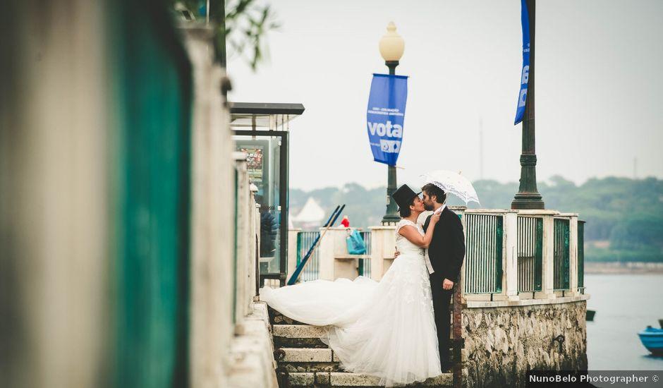 O casamento de Rui e Marta em Almada, Almada