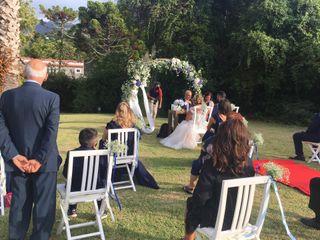 O casamento de Sílvia e Ermanno