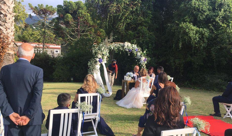O casamento de Ermanno  e Sílvia em Colares, Sintra