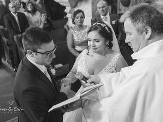 O casamento de Carla e Tiago