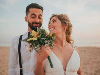 O casamento de Tânia e Michael