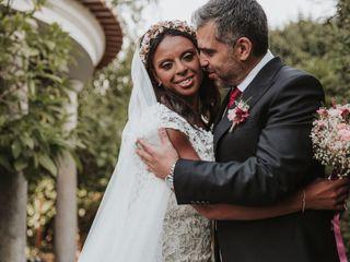 O casamento de Raquel e Rui