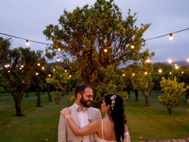 O casamento de Áurea e João