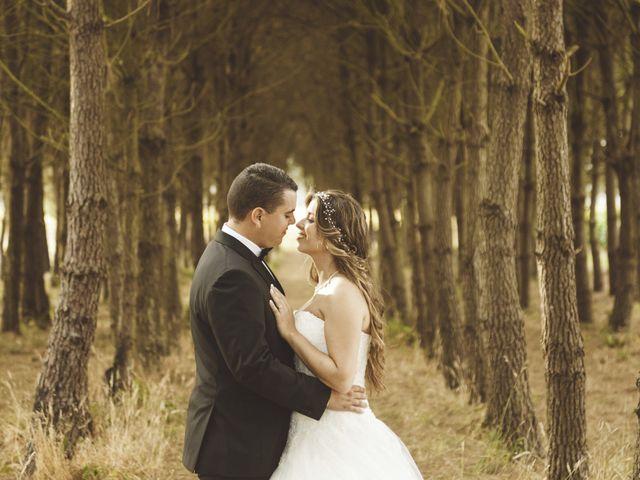 O casamento de Virginie e Stephane