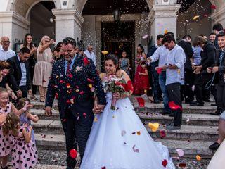 O casamento de Sandra e Sérgio