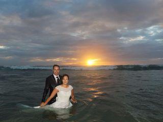 O casamento de Nadine e David