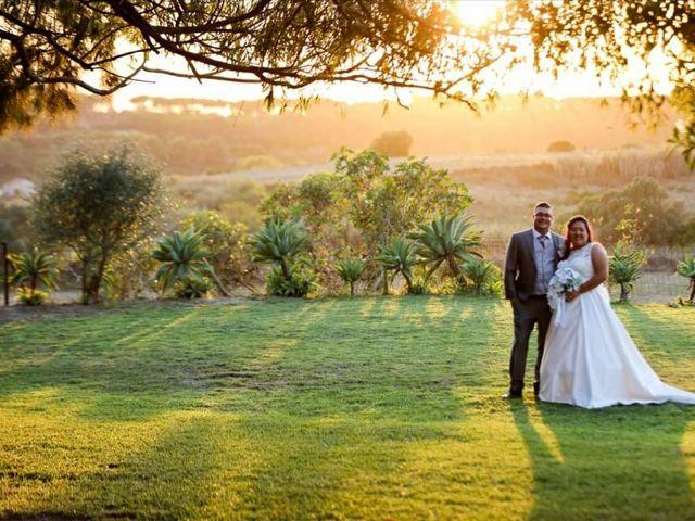 O casamento de Tânia e Sullivan