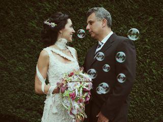 O casamento de Carla e Odilon