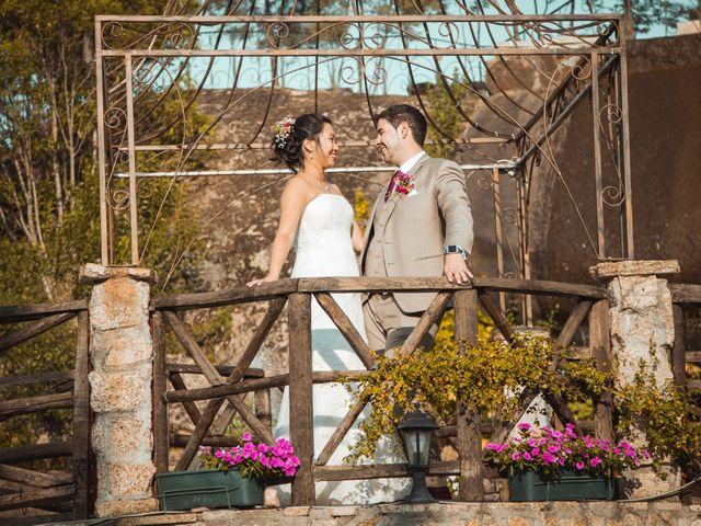O casamento de Kelly e David