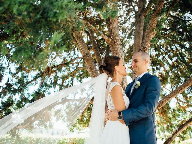 O casamento de Alina e Leandro