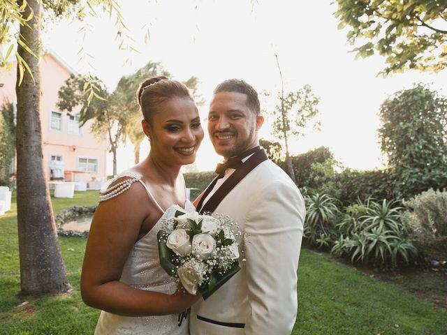 O casamento de Heliana e Osvaldo