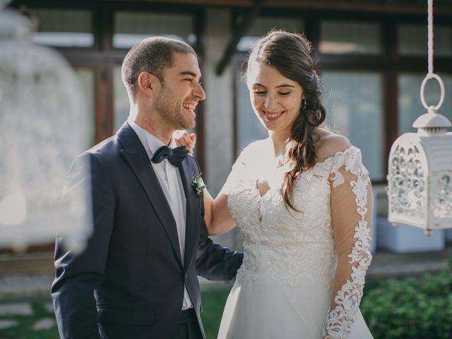 O casamento de Verónica e Artur