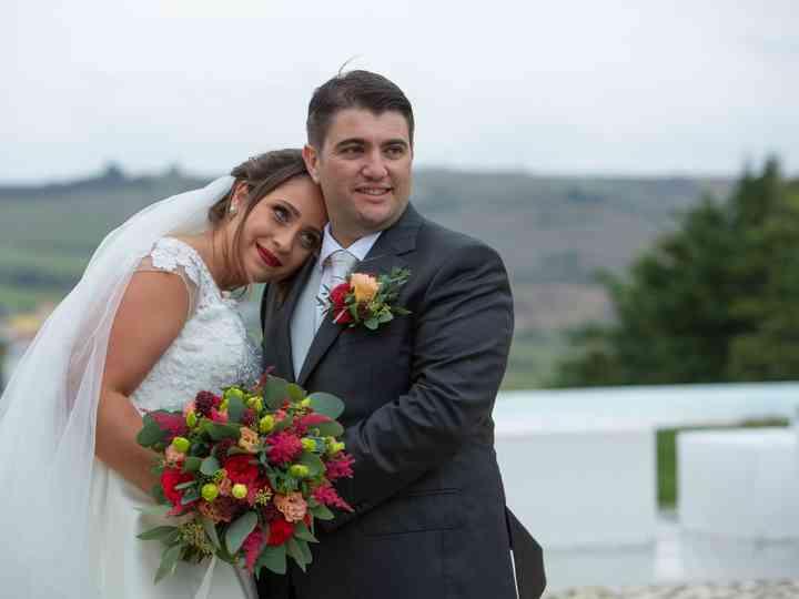 O casamento de Inês e Paulo