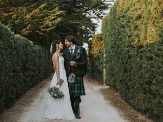 O casamento de Sara e Robin